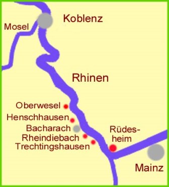 Rhinen Ferie Ferieboliger Udlejes Direkte Am Rhein Tjek Her
