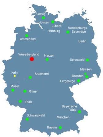 Weserbergland Ferieboliger Ved Floden Weser I Nordtyskland Book Her